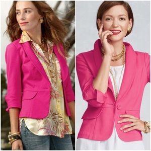 CAbi Hot Pink Blazer Size 12